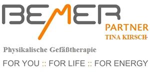 Bemer Partnerin Tina Kirsch/Physikalische Gefäßtherapie